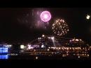 AIDAmar - Taufe und Feuerwerk beim 823. Hafengeburtstag in Hamburg [christening]