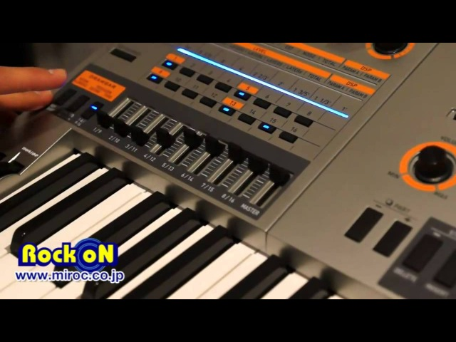 Namm 2012 Casio XW-P1 WX-G1 by Rock oN Report