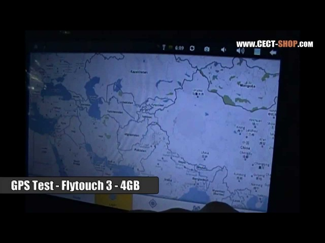 GPS Test - Flytouch 3 with 4GB