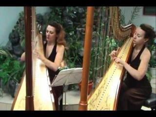 Endless Love - harp cover - Дуэт арф Espressivo