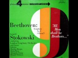 Leopold Stokowski - Beethoven Symphony No. 9 in D Minor, Op. 125 (