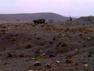 جراثيم بشار النعجة تقصف دوما بصواريخ سكود Scud
