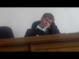 Судья уснул во время заседания, проснулся и вынес приговор: