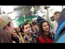Рождество в трамвае КТМ-19 ( мой репортаж )
