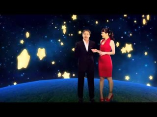 Natalia Oreiro and Adrian Suar - Christmas promo for Canal 13 - 18.12.2012