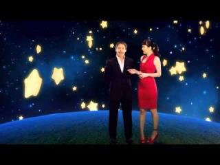 Natalia Oreiro and Adrian Suar - Christmas promo for Canal 13 - 18.12.2012
