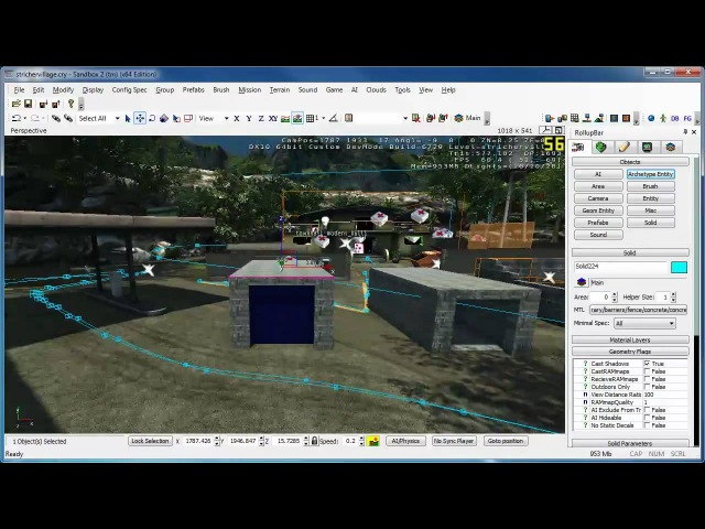 Crysis Sandbox Portal Vis und Occluder Area GER