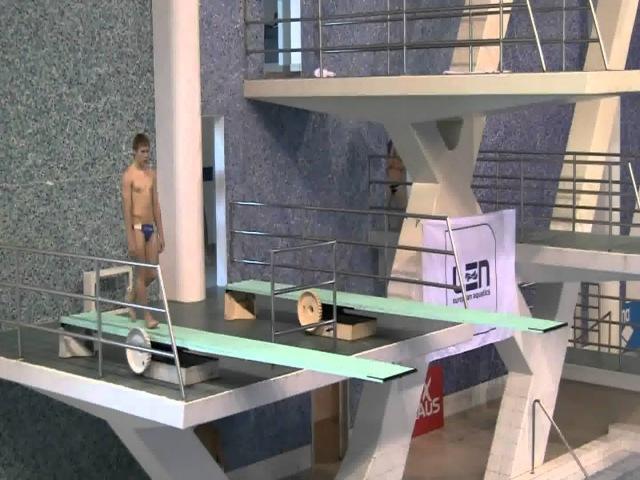 Oleg Kolodiy A-Boys 3m - Diving Junior European Championships 2010