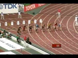 Im Körper der Topathleten Asafa Powell 100m Sprint Teil4/4