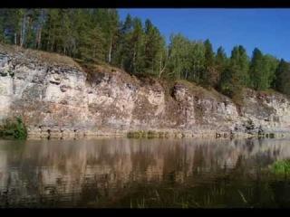Сплав по реке Ай на плоту