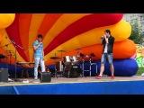 Андрей ESH и Gr1me - выступление на дне молодёжи