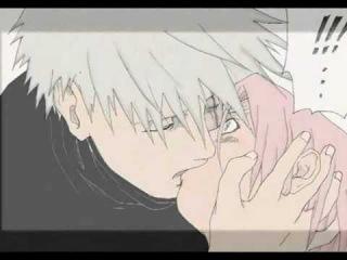 Kakashi and Sakura: the Doujinshi. 3 Kisses