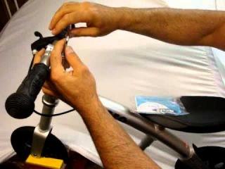 micro g-bike - как регулировать руль