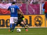 Spain vs Italy 1-1 All Goals & Highlights - 10/06/2012
