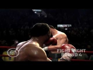 A Bloody Vitali Klitschko Knocked Out (Fight Night Round 4 - PS3)