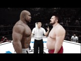 UFC Undisputed 3 Gameplay: Bob Sapp vs. Roy Nelson (Pride Championship Match) CPU vs. CPU