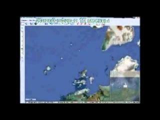 Сокрытие Даарии ( Гипербореи ) _карта Google