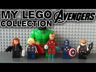 MY LEGO MARVEL SUPER HEROES AVENGERS COLLECTION REVIEW 2014/Моя Коллекция Лего Супер Герои Обзор