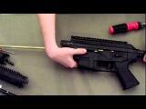 как разобрать винтовку Sig 556 Airsoft Rifle