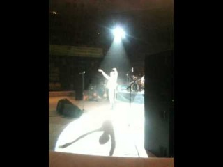 Вакарчук слазил на канат в цирке Ижевска (22.03.2012)