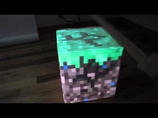Кубик из майнкрафта