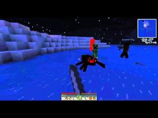 Minecraft Arctic Survival Island или что осталось за кадром часть 1