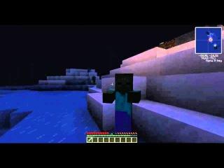 Minecraft Arctic Survival Island или что осталось за кадром часть 4