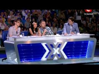 Давид Кадимян x-factor2 сезон Харьков х-фактор 17,09,2011