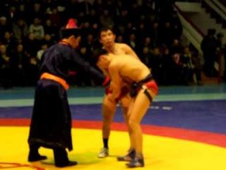 Чемпионат по бурятской борьбе 21 января 2012 года