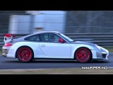 Modified Porsche 997 GT3 RS MK2 Loud Sound on the Track!