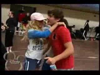 the wacky song with the HSM 2 cast!!! Funny!!!