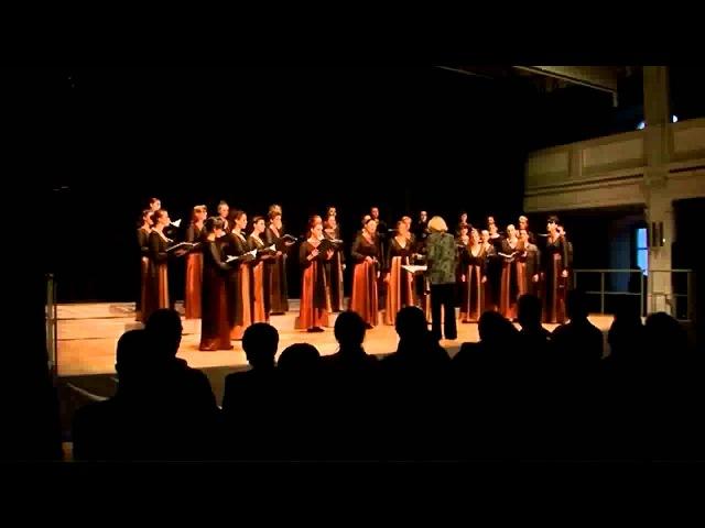 Iryna Aleksiychuk Vechirnya molytva Female Choir of Kiev Glier Instgitute of Music Ukraina