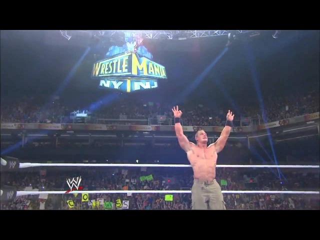 John Cena vs The Rock (Wrestlemania 29 Promo)