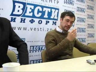 Актер Анатолий Пашинин в Запорожье - 24.01.2013.