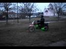 Мопед Сабур Альфа 110 кубов Жесть,, Стант ,,Дрифт..avi