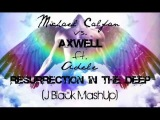 Michael Calfan vs. Axwell ft. Adele - Resurrection in the deep (J Black Dj Bootleg) Re-edit