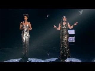 Голос - Дина Гарипова и Fantine и Бутман `Skyfall` (Adele) - Первый канал