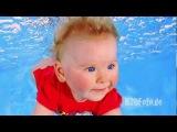 Video making of Baby Unterwasser Foto Shooting HQ