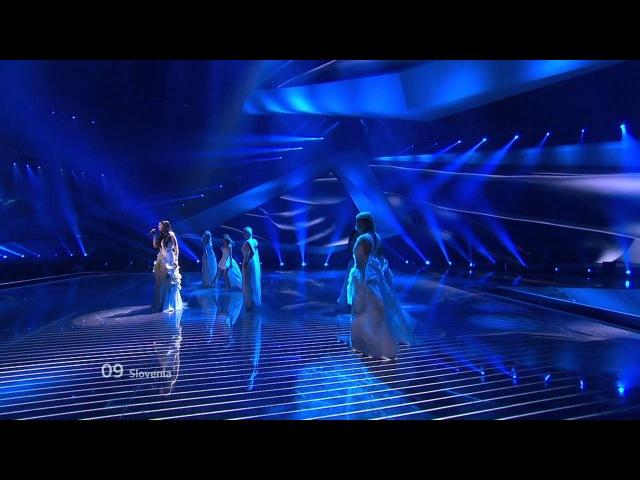 Eurovision 2012 - Slovenia - Eva Boto - Verjamem