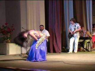Юлианна Воронина на концерте фестиваля