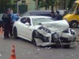 Киевлянин на Porsche Panamera устроил ДТП в центре