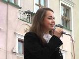 Соломія Гордєєва.Виступ до Дня матері в Дрогобичі
