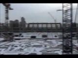 Леонид Федун на строительстве стадиона «Спартак»