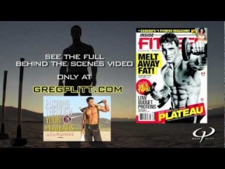 Greg Plitt - Inside Fitness Workout & Cover Shoot Preview - GregPlitt.com