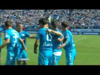 Зенит - Амкар 1:0 Александр Кержаков    Гол в матче  
