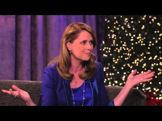 Jenna Fischer on Jimmy Kimmel Live PART 1