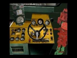 Запуск 2ТЭ10У,М62 в zd simulator