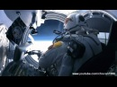 Felix Baumgartner Supersonic Freefall From 128,100 ft.(39.045 km) - The Highlights!