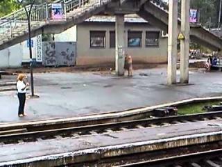 Водные процедуры на станции Красноград.MP4