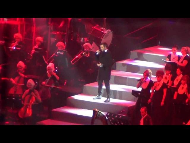 Mozart, l'opéra rock - Quand le rideau tombe (Russia, Saint-Petersburg 18.02.2013)